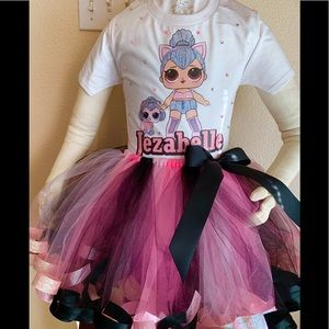 Lol Dolls Birthday Party Tutu Outfit